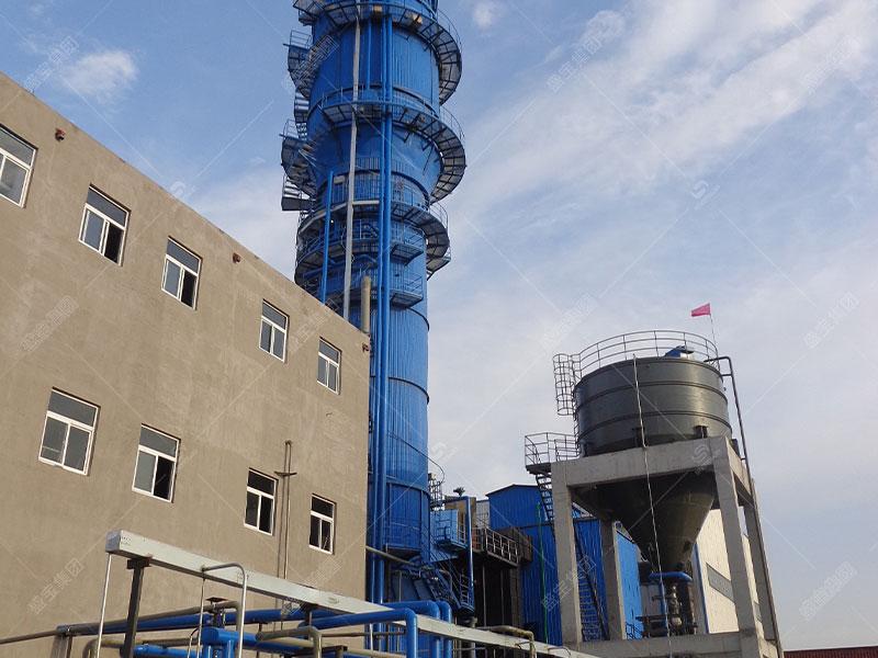 脱硫除尘一体化设备的工作流程