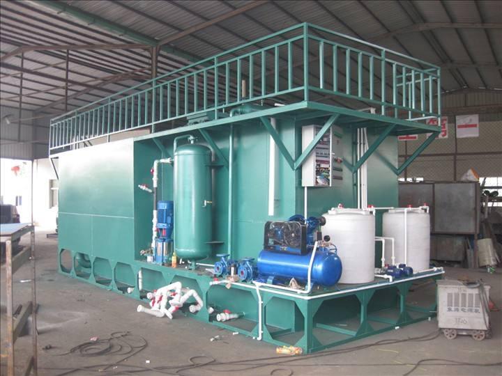 一体化污水处理设备出现故障了怎么处理?