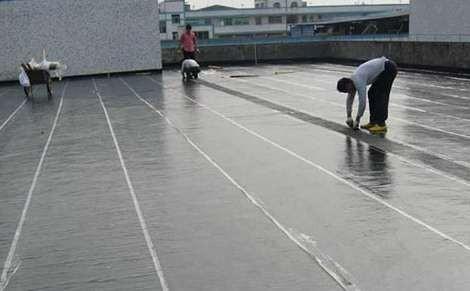 淺析防水材料的干鋪法