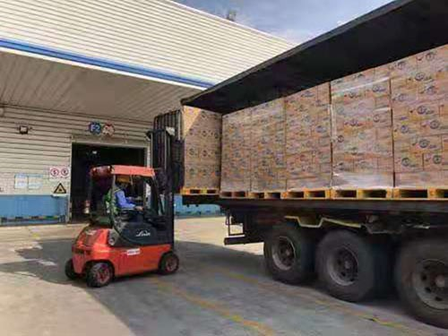 工厂货物运输