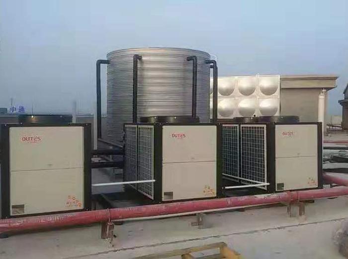 高港圆通物流园热水器系统