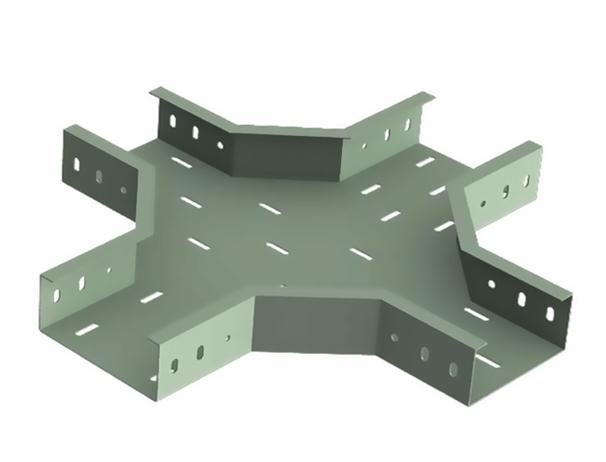 水平四通托盘式桥架