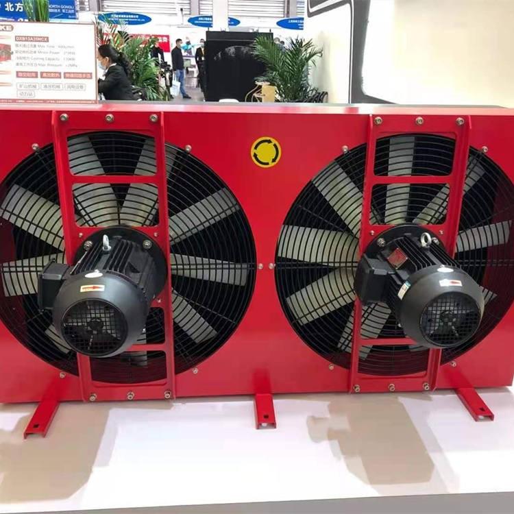 冷凝器采用弗伦恩特尼龙风叶参加展会