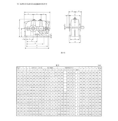 QJR-D、QJRS-D、QJS-D型起重减速机