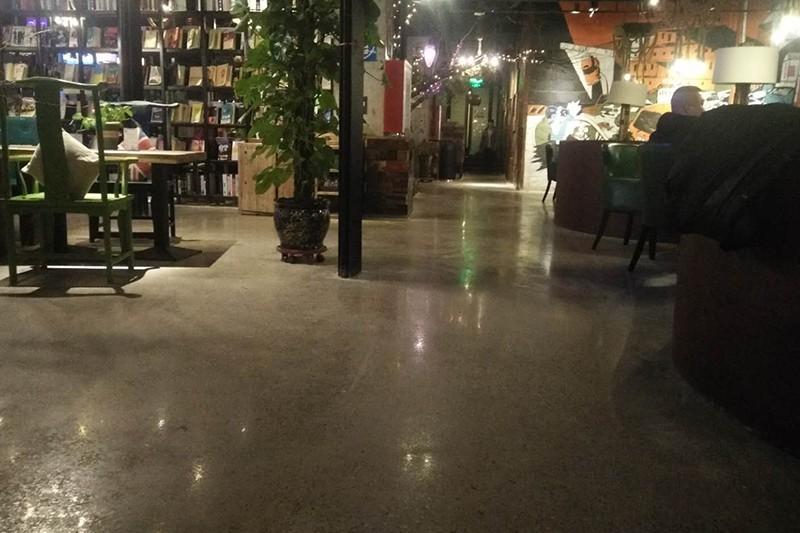 呼和浩特市咖啡厅-混凝土密封固化地坪